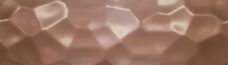 Punchy Polygon Design Blech