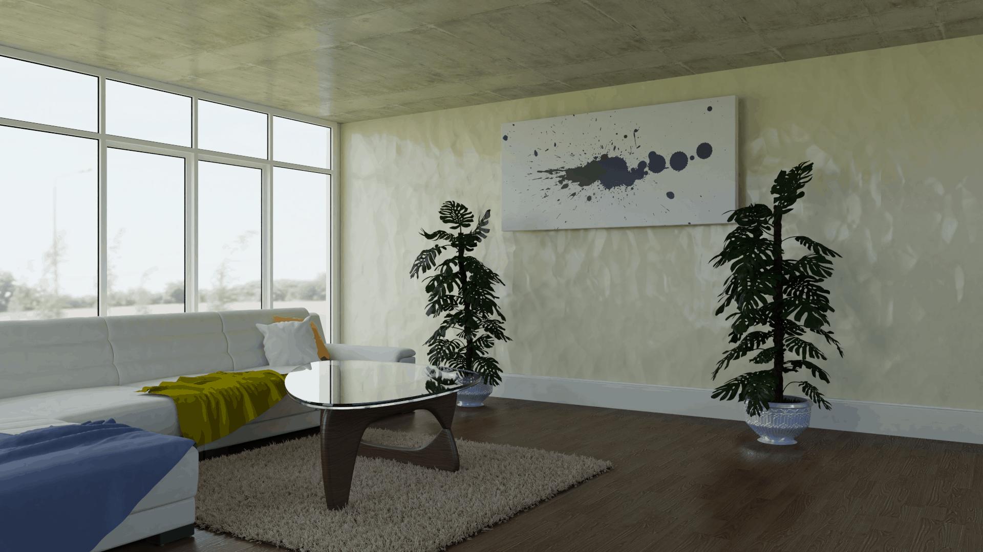 Metall Wandverkleidung Interior