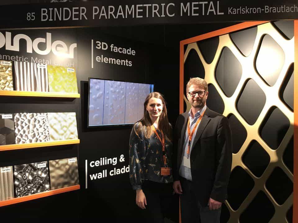 Binder Parametric Metal Architect@work