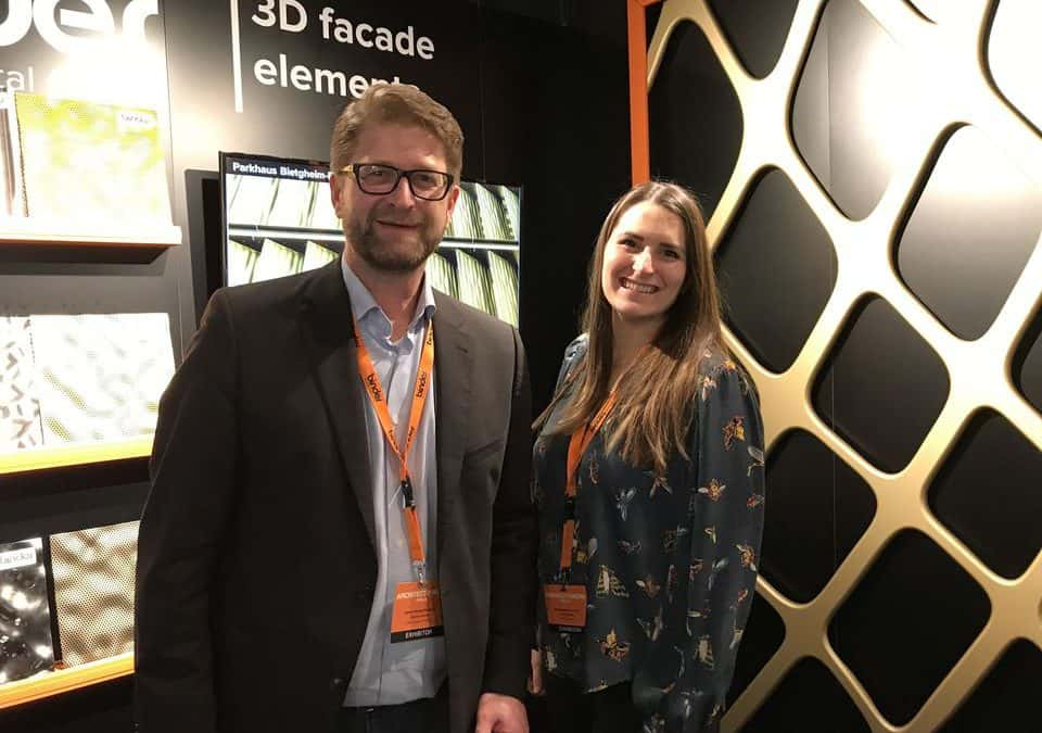 Binder Parametric Metal auf der Architect@Work Berlin 2018