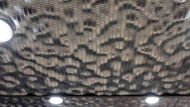 Haslinger Hof 3D Blech Deckenverkleidung