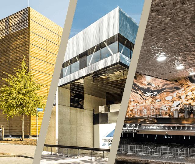 Design metal facades