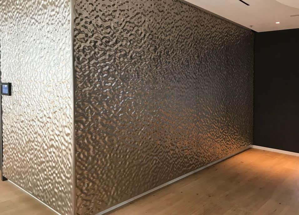 Designelement Innenausbau Metall