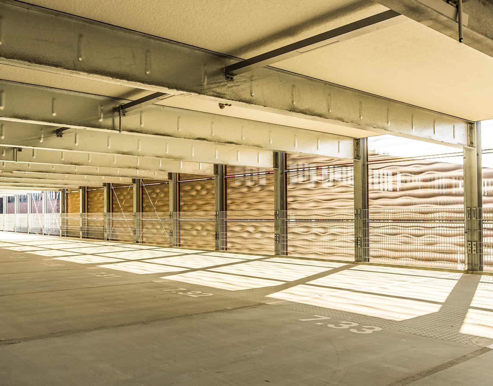 3D Metallfassade Parkhaus ARC Kiel