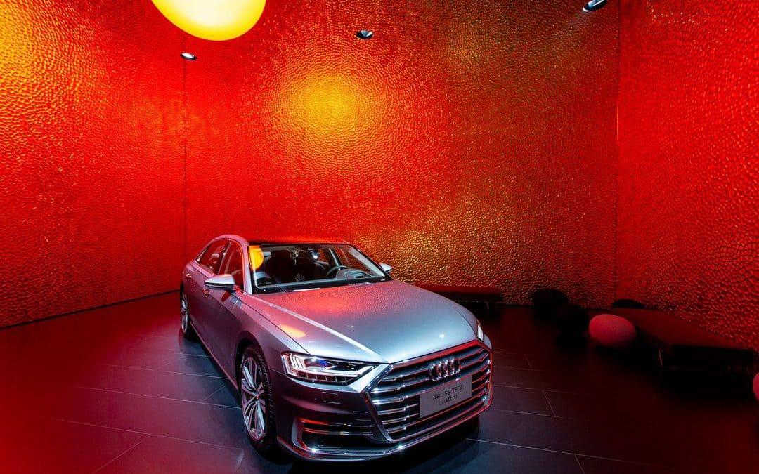 Audi Messestand Auto Shanghai 2019