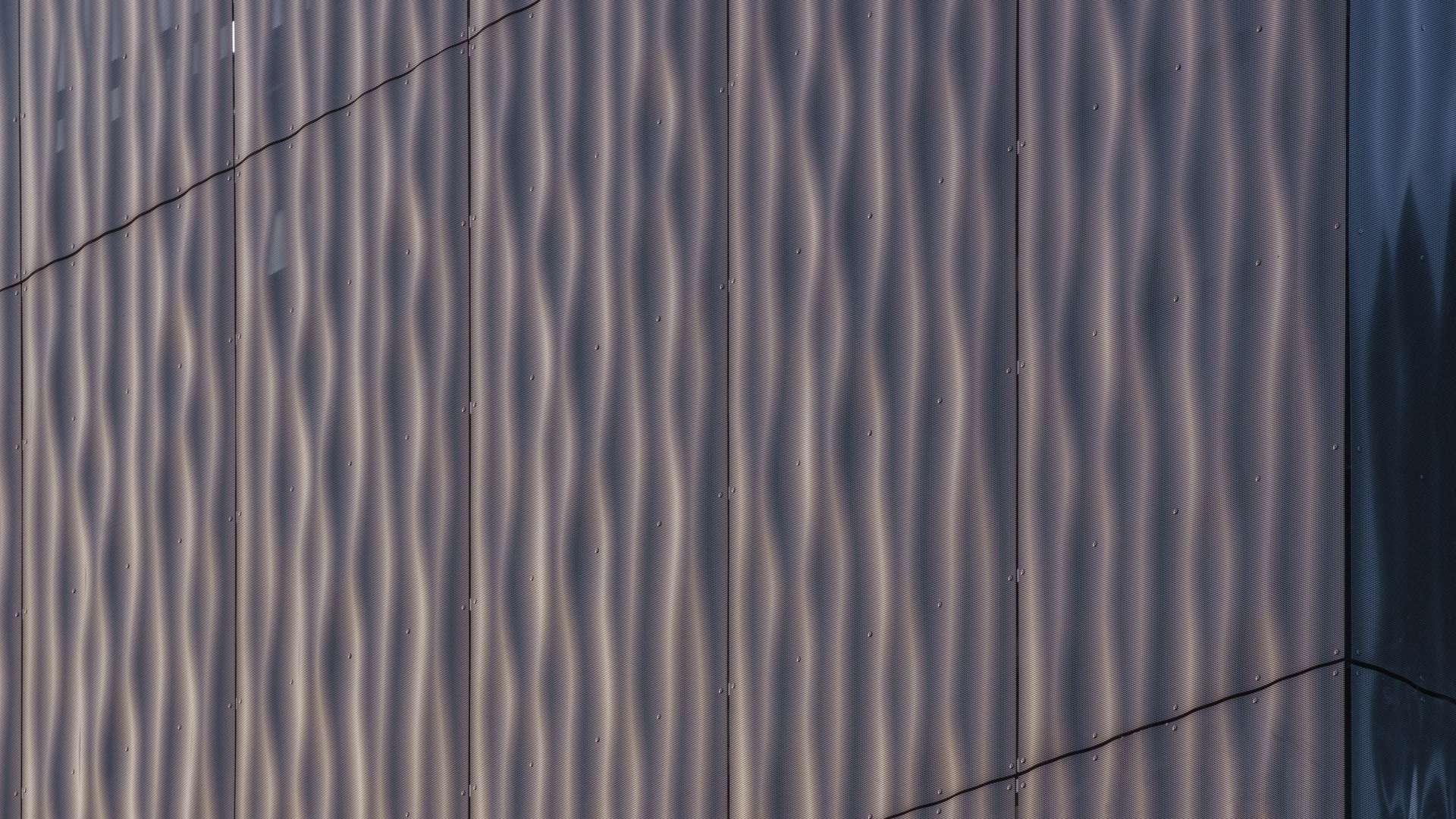 3D Metall Fassade Abensberg