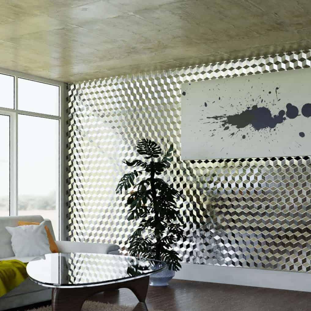 Cubes 3D Wandverkleidung
