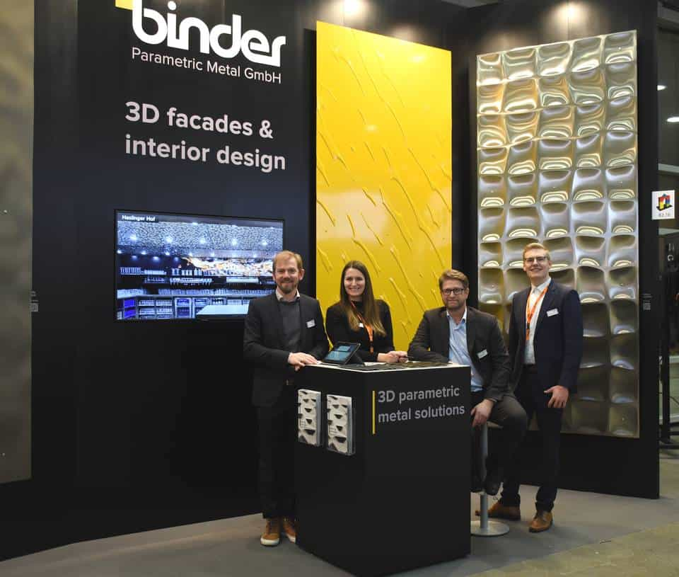 Baumesse 2019 Team Binder Parametric Metal