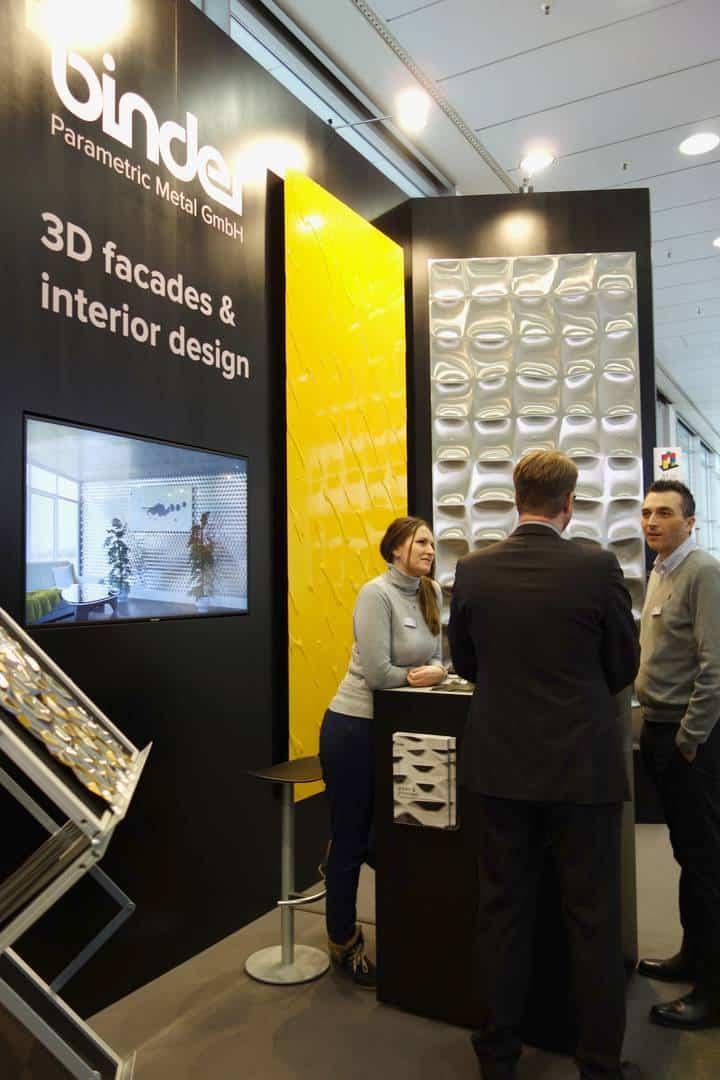 Baumesse 2019 3D Fassaden Stand
