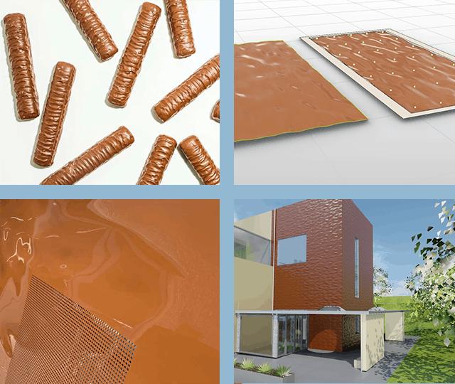 Customized design facade 3D