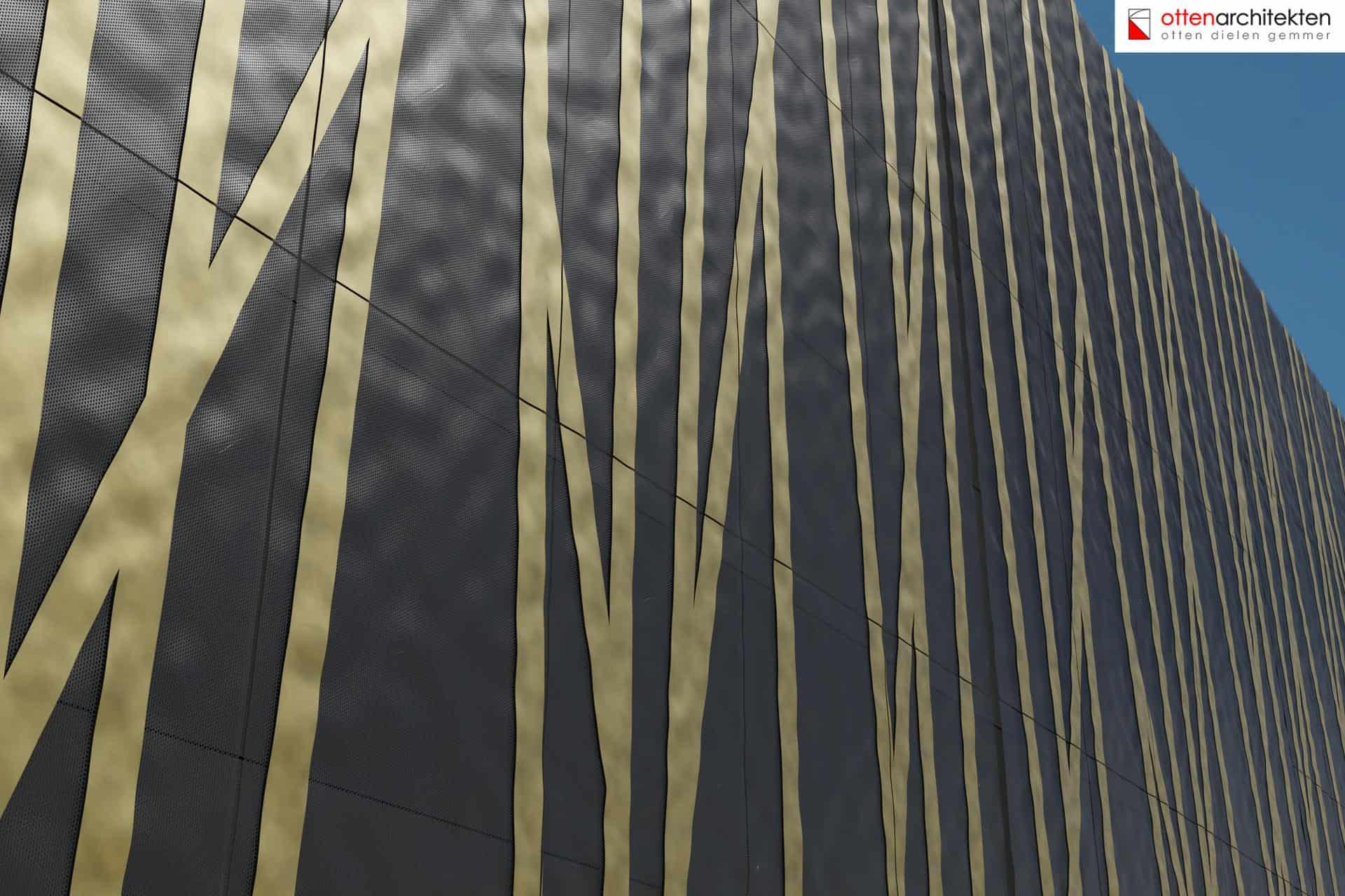 Industriegebäude Ottenarchitekten Designfassade