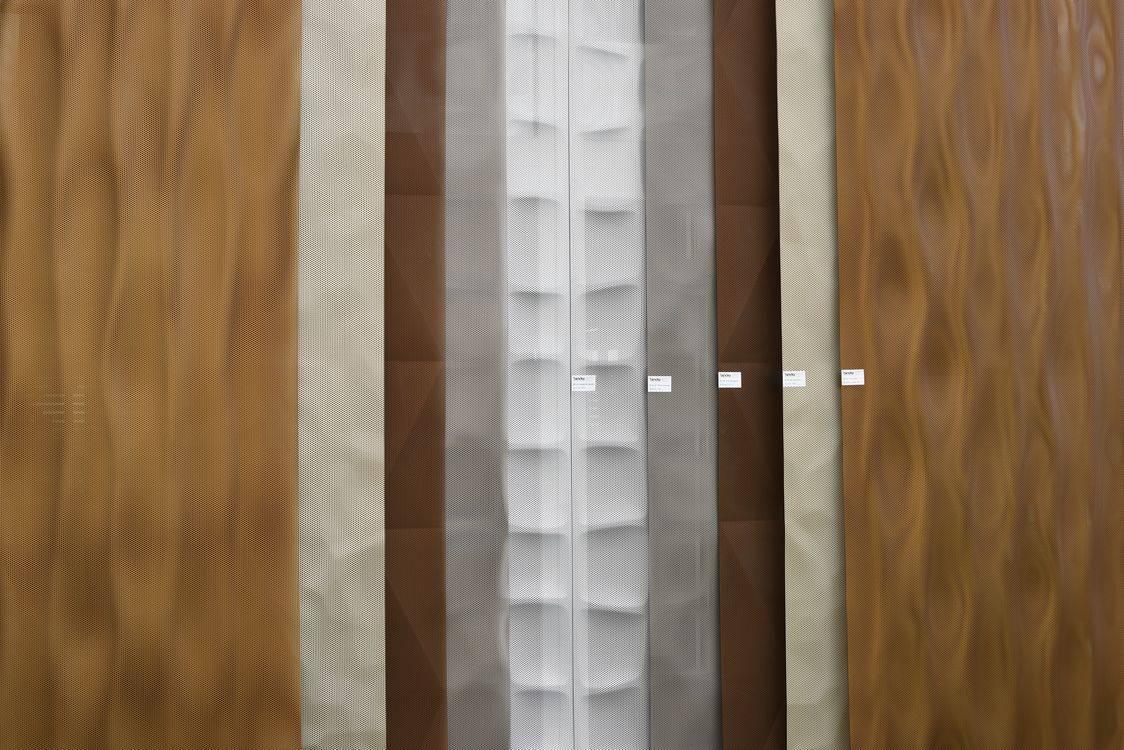 3D Blech Muster Ausstellung