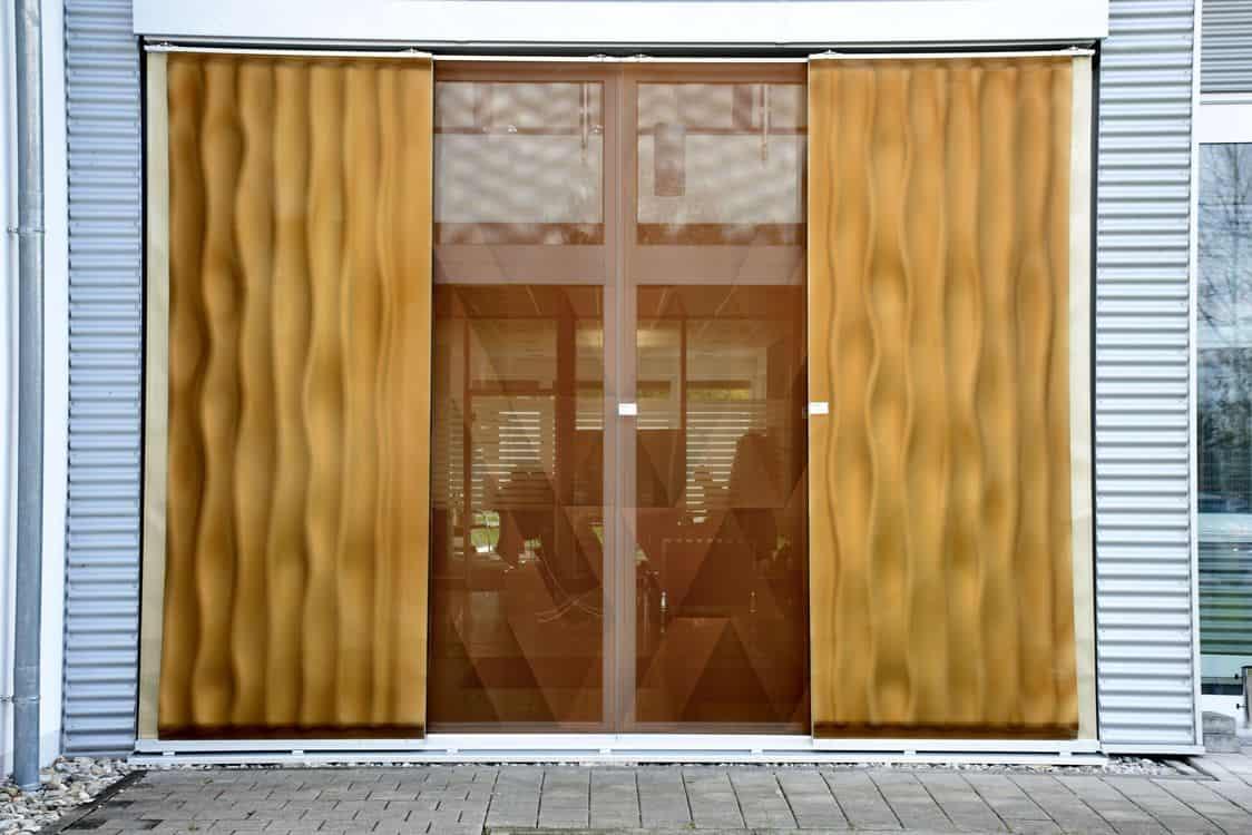 3D facade metal sheet exhibition
