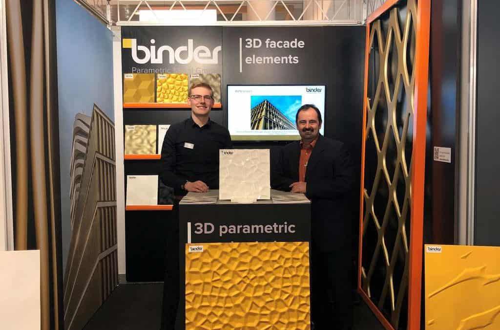 Binder Parametric Metal auf der Swissbau Messe Basel 2020