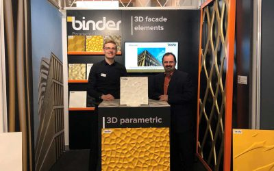Swissbau 2020: A successful trade fair for Binder Parametric Metal
