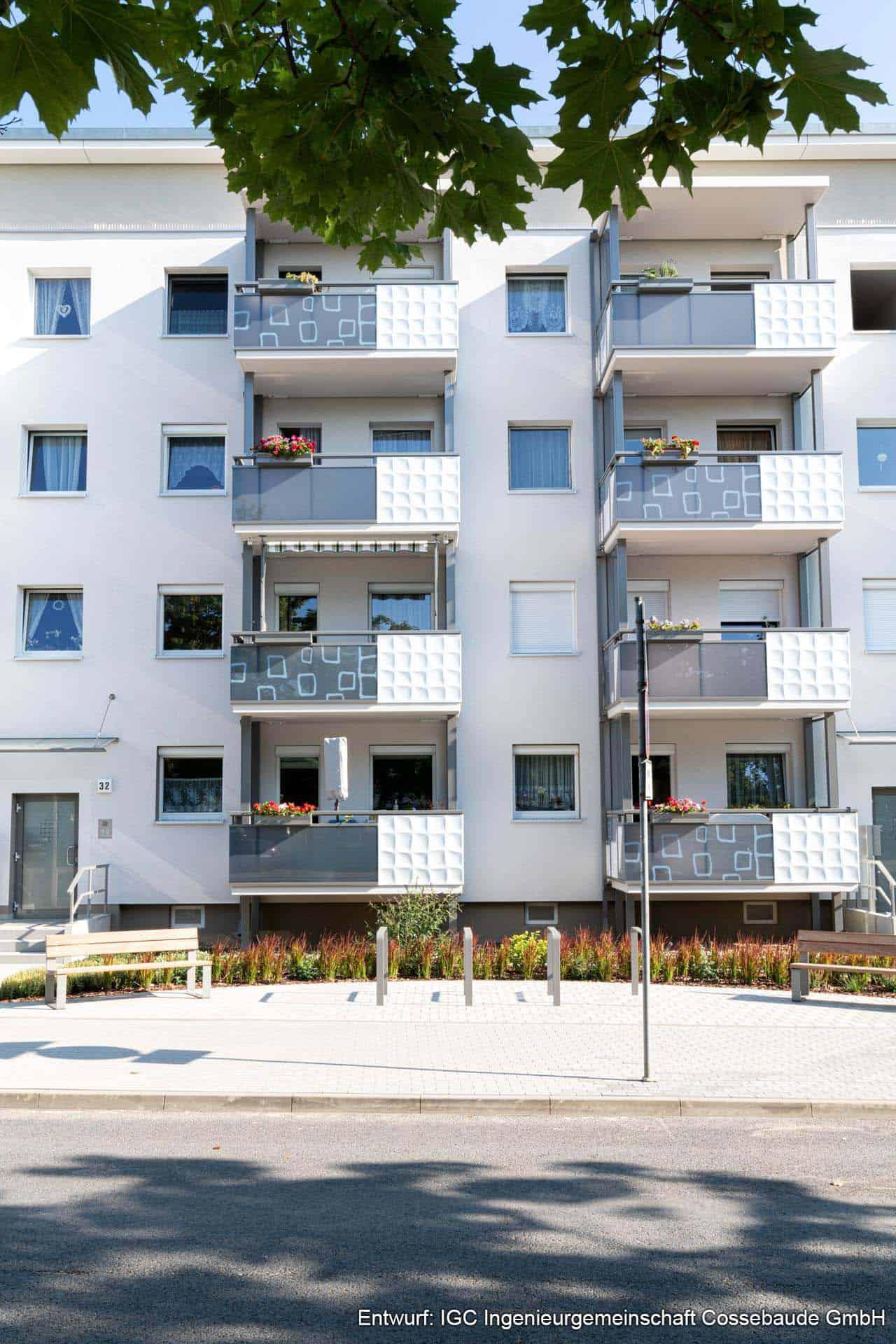 3D Fassade Balkon