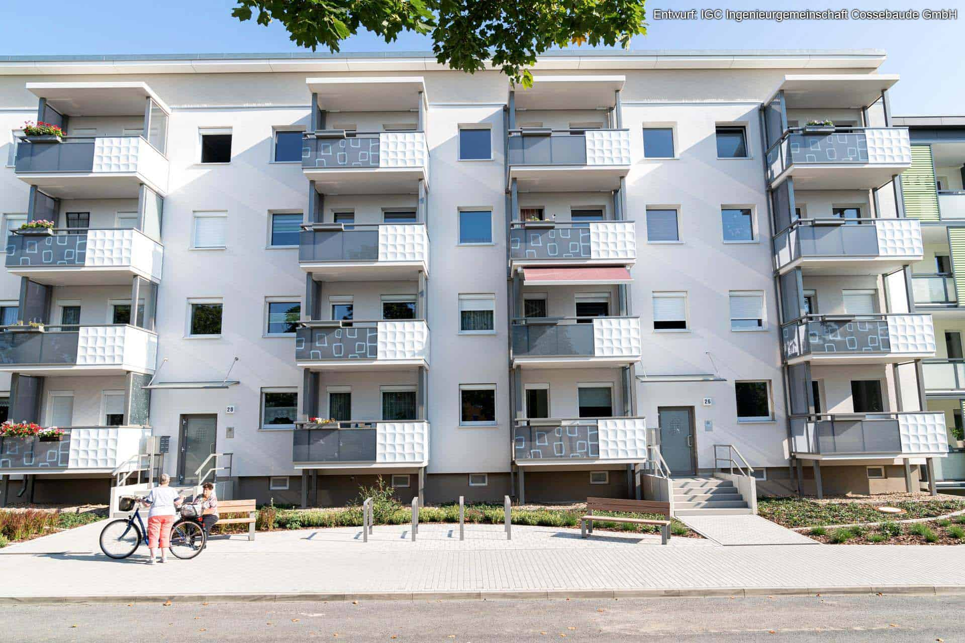 Design Blech Balkon