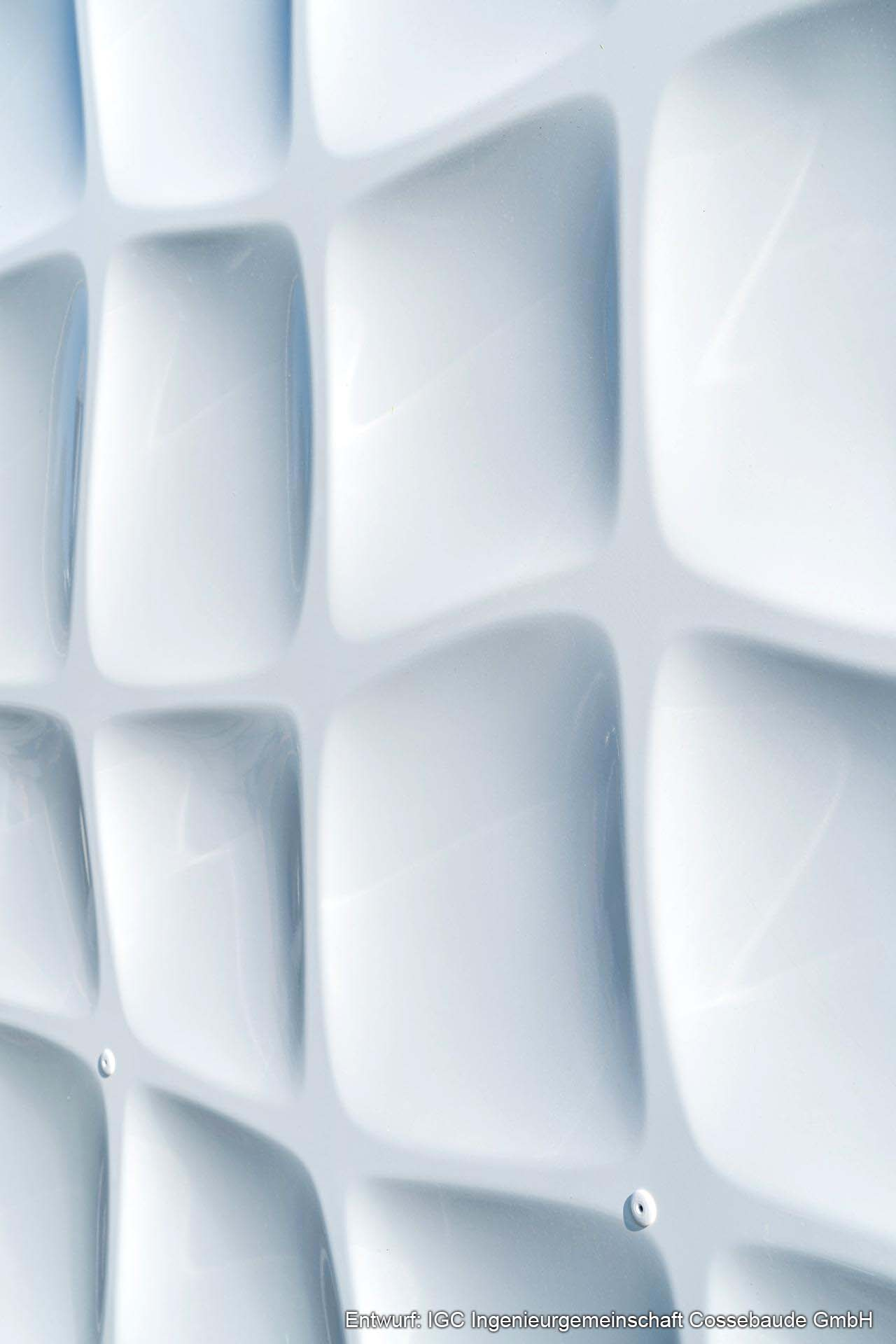 3D Fassade Rolling Squares