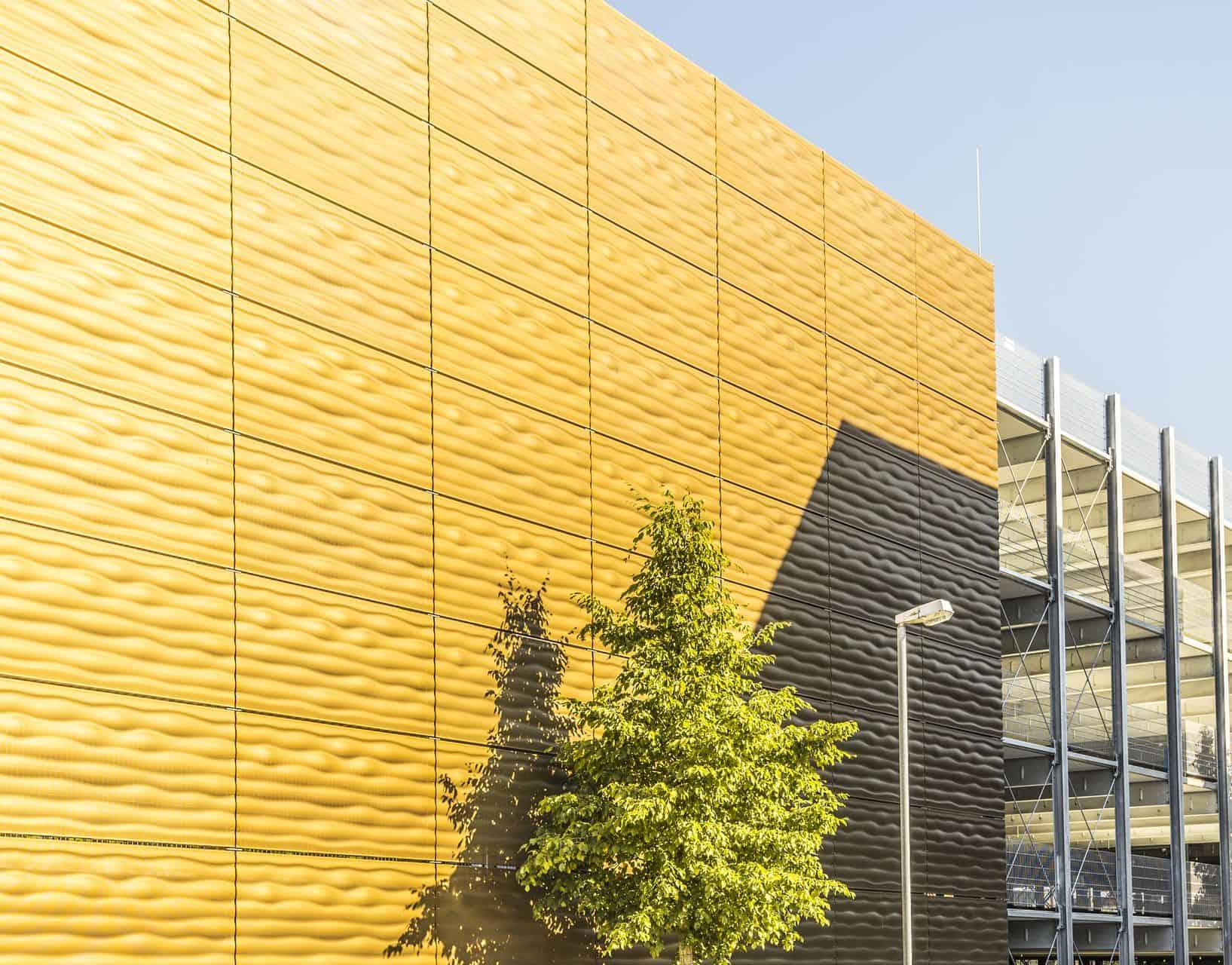 Binder Parametric Metal ARC-Kiel 3D metal facade