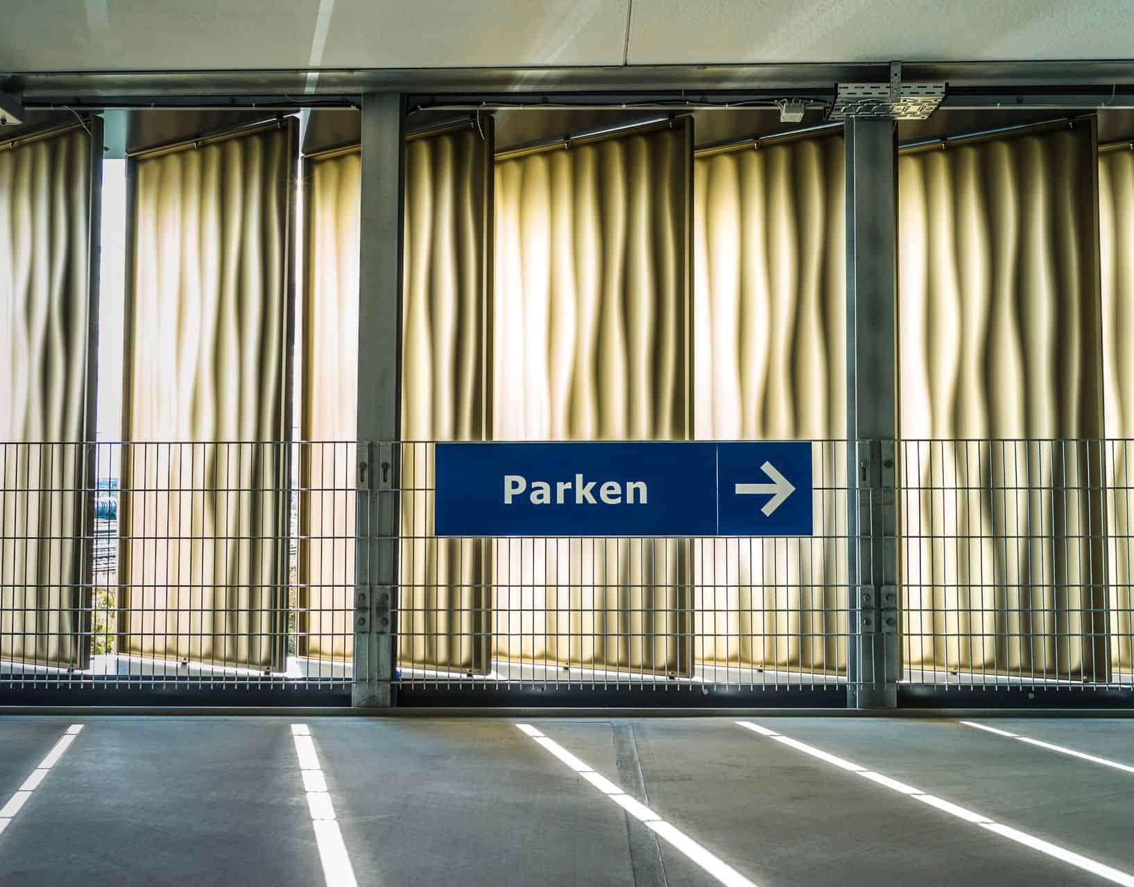 BinderPM 3D design facade car park Bietigheim Bissingen