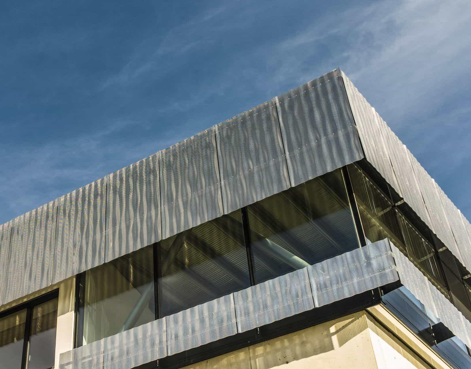 BinderPM 3D design facade school of tourism St. Johann