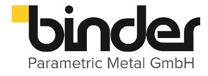 Binder Parametric Metal