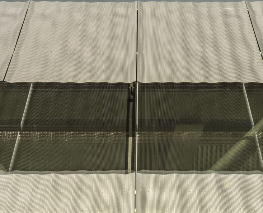 Binder Parametric Metal 3D outside facade