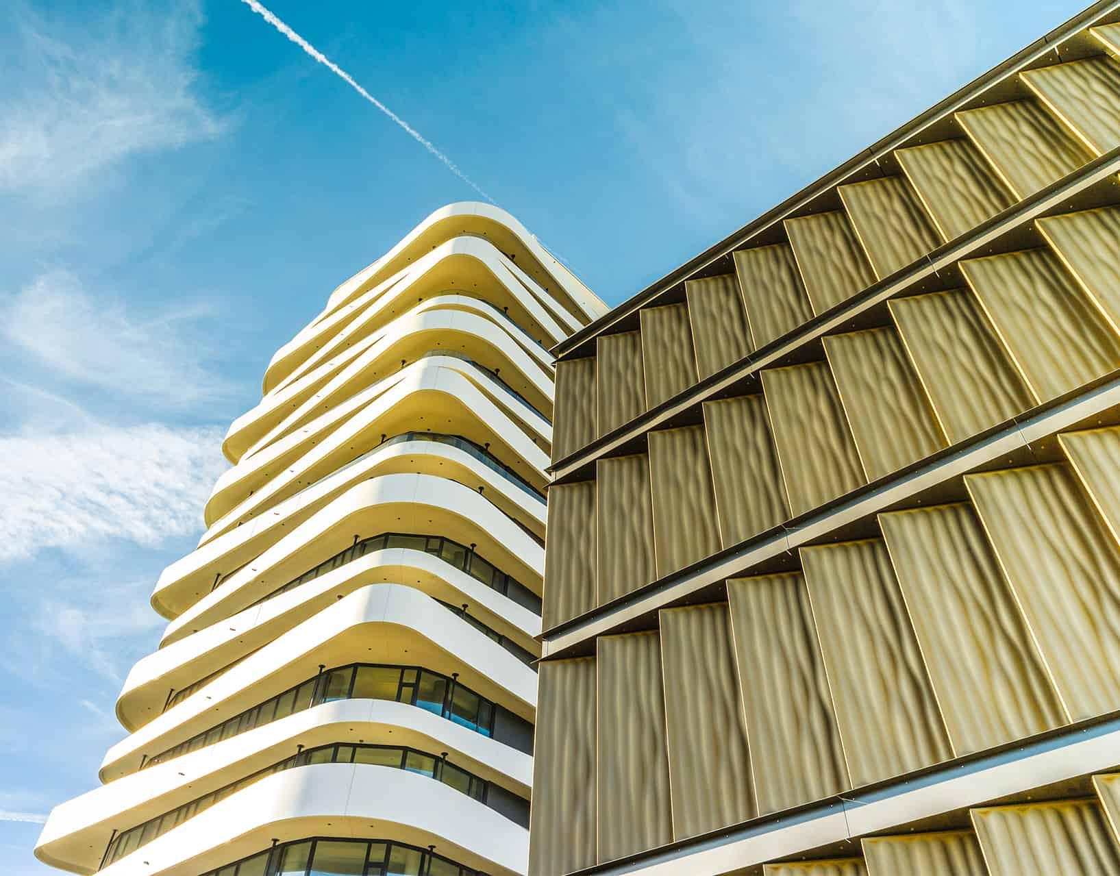 BinderPM 3D Design Fassade Parkhaus Bietigheim Bissingen