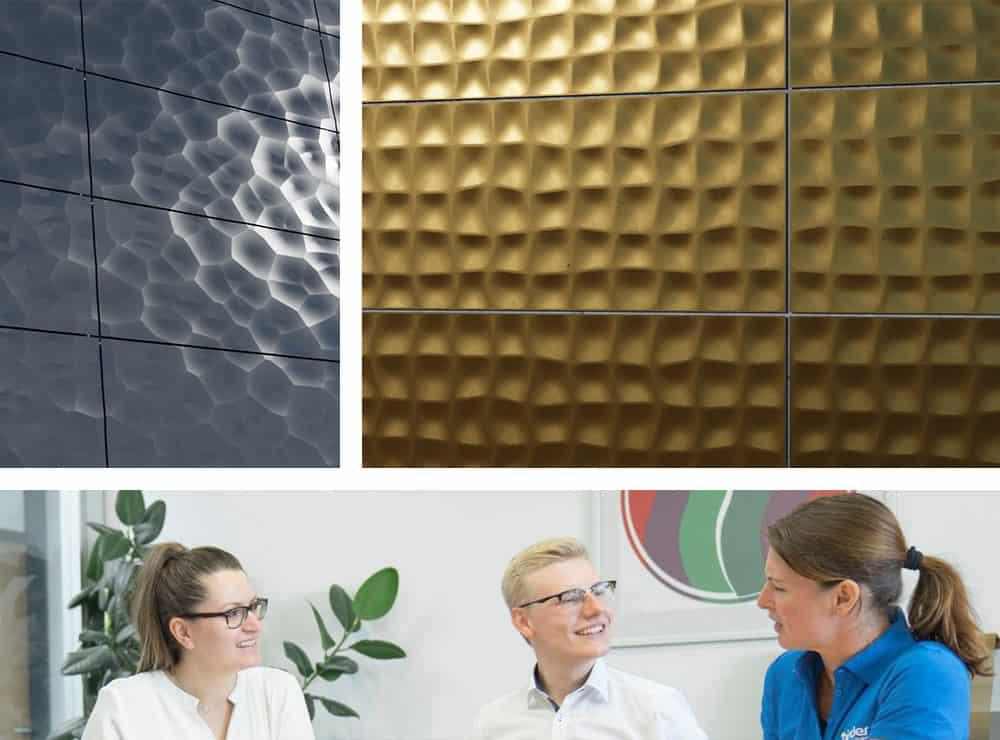 BinderPM Customized 3D Fassade