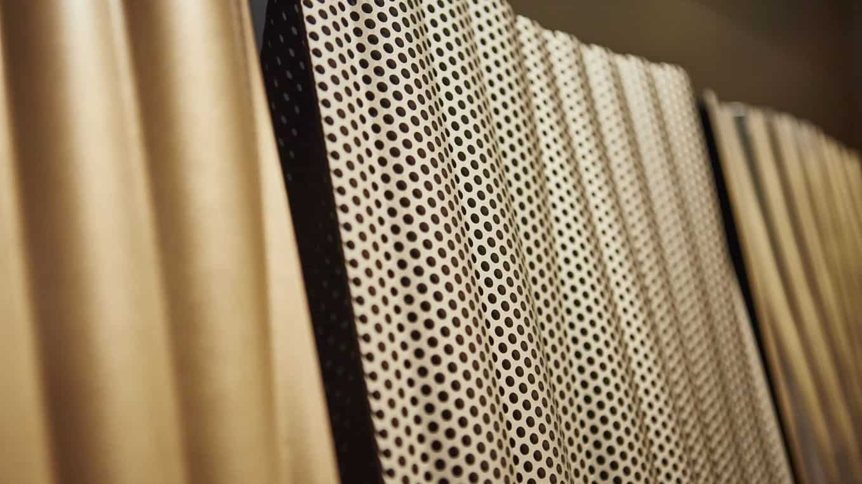 Binder Parametric Metal interior lining