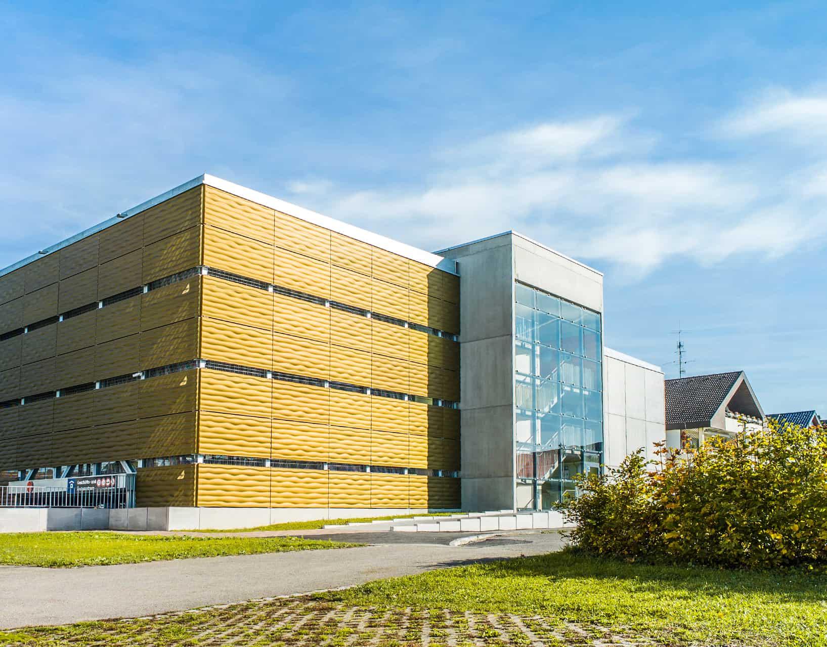 BinderPM 3D Fassade Parkhaus Lauchringen