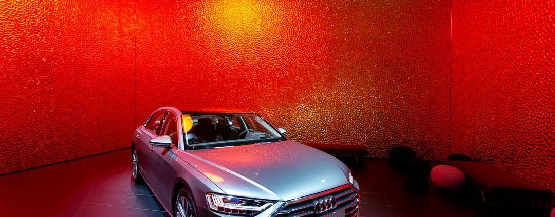 Polygon Facade Audi Shanghai